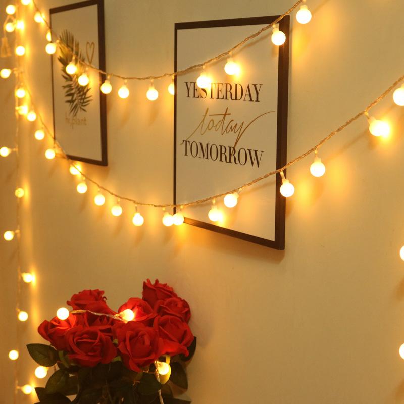 星星灯饰网红卧室装饰品LED小彩灯闪灯串灯满天星网红灯房间布置