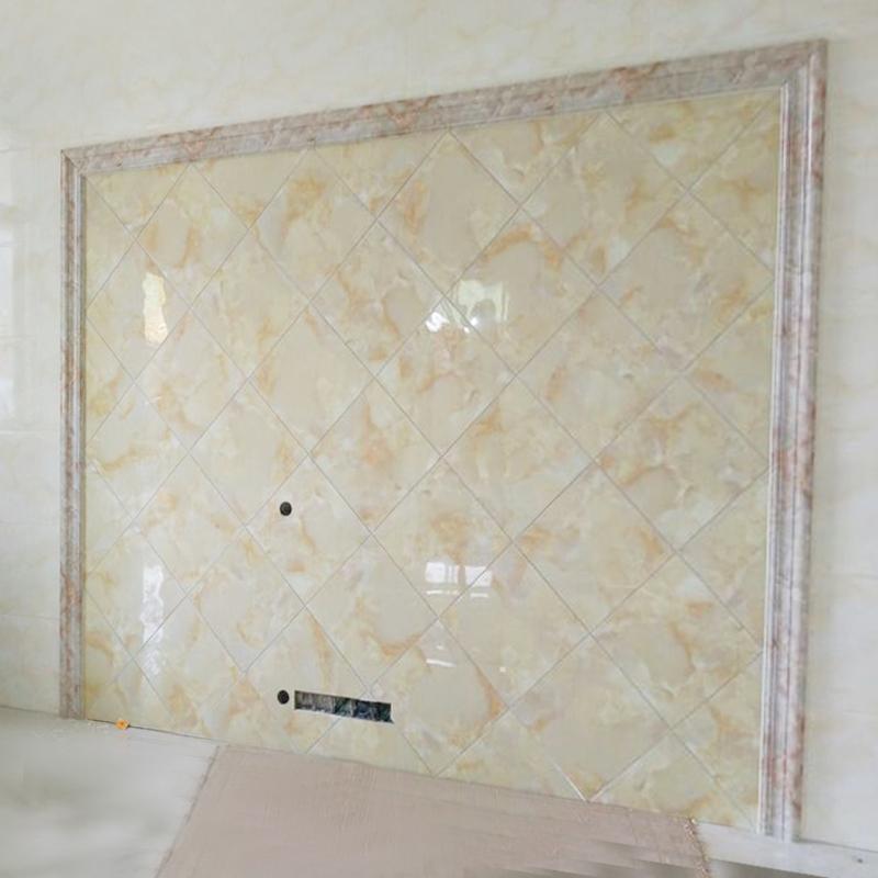 仿大理石电视背景墙边框装饰条瓷砖腰线石塑门套包边人造石材线条