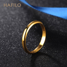 18K Gold Ring for Men and Women Rose Golden Face Couple Ring Writes on Ring Gold Ring Tail Ring