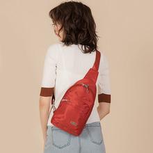 时尚女士胸包2021新款帆布单肩背包牛津布斜挎包运动旅行小包包女