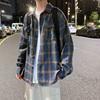 秋季长袖青少年港风格子韩版衬衫质量如何