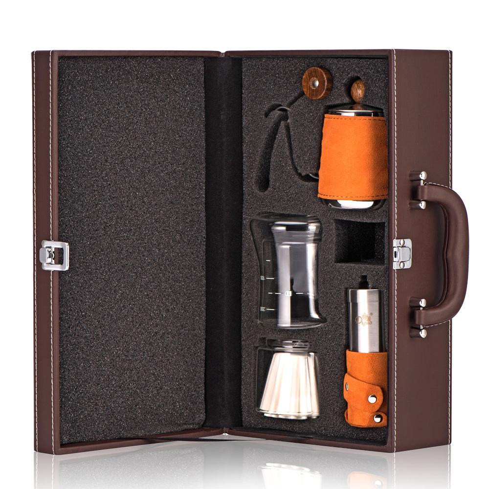 帝国手冲咖啡壶套装家用分享滴漏壶手工磨豆煮咖啡机全套器具礼盒