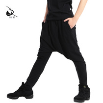 Pak House Dance Court new Mens Dance practice fashion drop Harlan Pants Hip-hop jazz pants Adult
