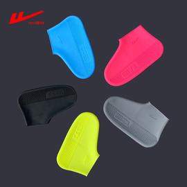 回力雨鞋套夏季时尚硅胶韩国耐磨下雨天可爱男女儿童雨靴防水鞋套