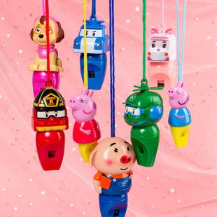 佩奇口哨儿童卡通可爱哨子创意礼品抖音玩具佩琪口哨宝宝幼儿园