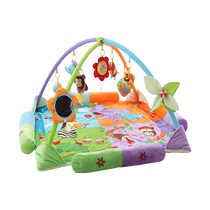 Baby Music Fitness Game blanket crawling mat newborn baby 3-12 months puzzle toy Full Moon with gift items