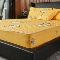 六面全包床笠单件加厚夹棉拉链席梦思床垫保护套防滑固定防尘床罩