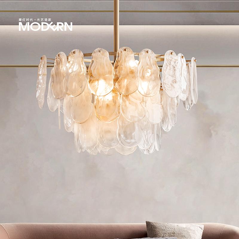 轻奢创意吊灯 大气奢华客厅卧室书房简约后现代个性设计师灯具