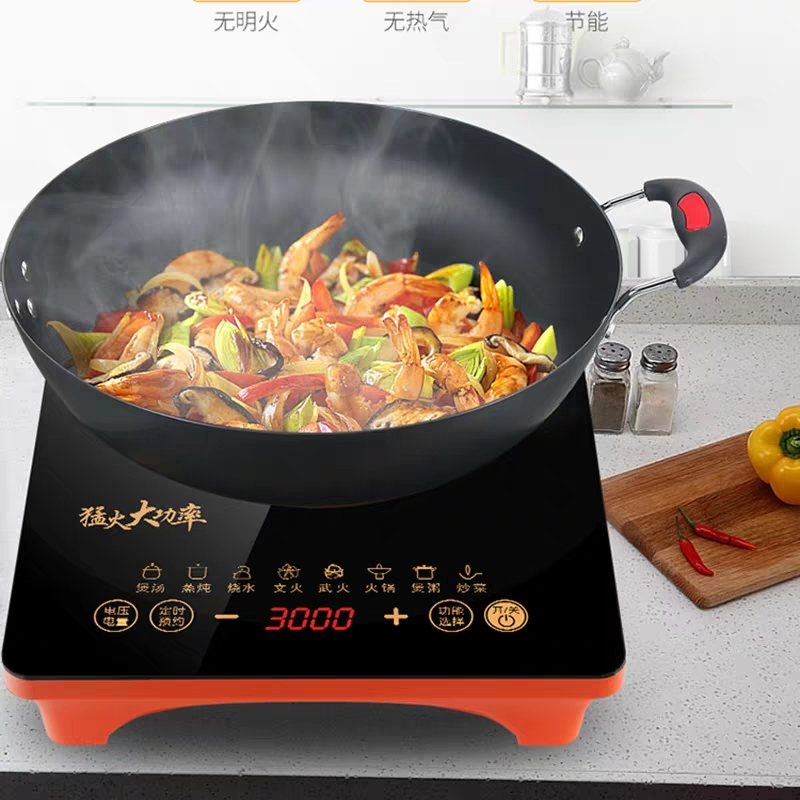 Induction cooker power 3000W household business intelligent 3500W stir frying hot pot integrated energy saving and durable package