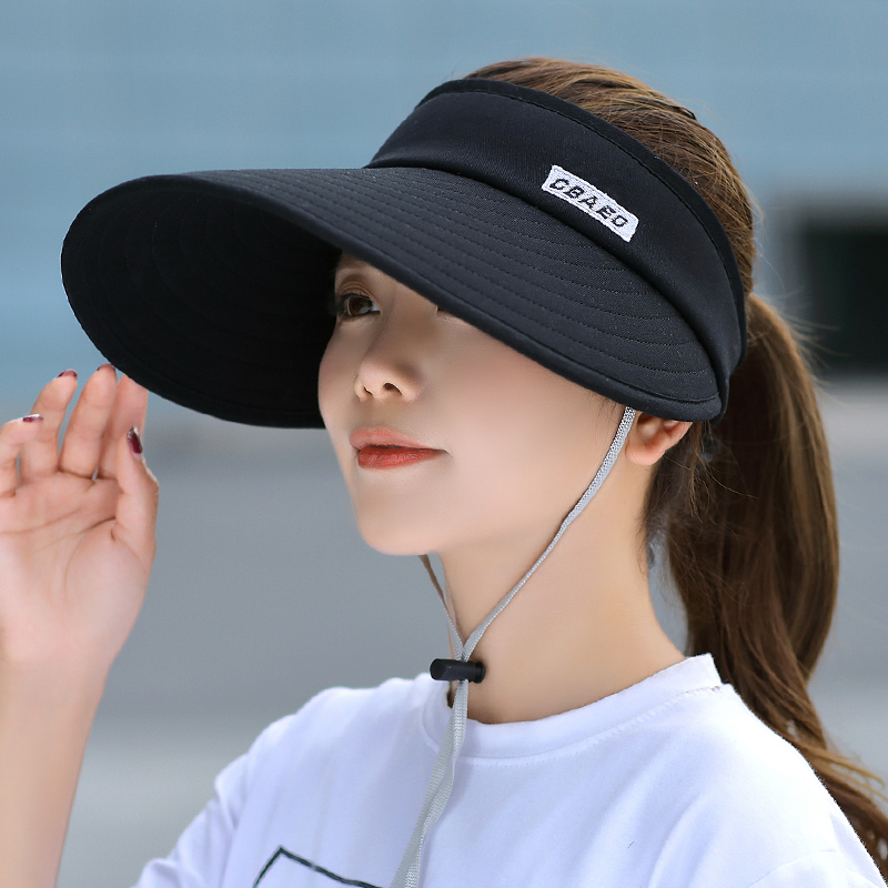 遮陽帽女夏季防曬帽子韓版潮百搭戶外大帽檐太陽帽涼帽大沿鴨舌帽
