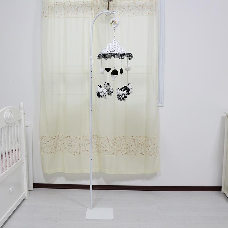新生嬰兒床鈴支架可調節高度立式支架蚊帳支架韓國支架掛床鈴支架
