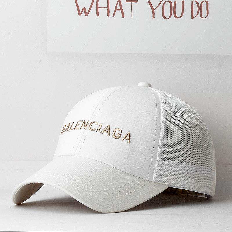 夏季网帽时尚韩版潮款男女户外运动出游百搭透气棒球帽遮阳鸭舌帽