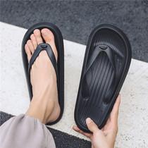 欧洲站人字拖男潮真皮美杜莎拖鞋男士室外休闲防滑外穿个姓凉拖鞋