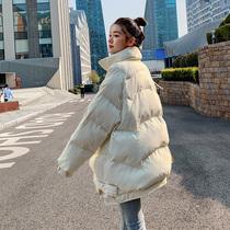 2020新款冬季外套女中长款宽松oversize棉服拉链女士大码棉衣外套