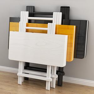折叠桌餐桌家用小桌子吃饭桌简易小型折叠桌椅便携摆摊桌宿舍方桌