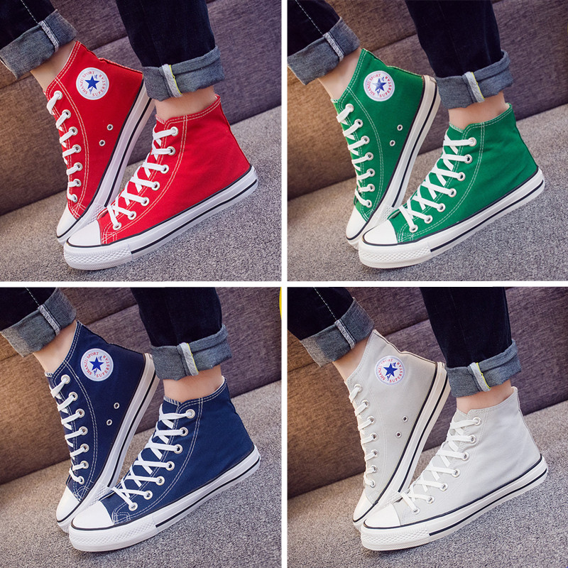 High top mens casual shoes in spring