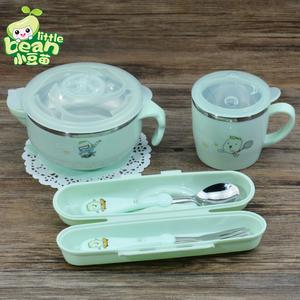 宝宝注水婴幼儿吃饭碗勺保温碗