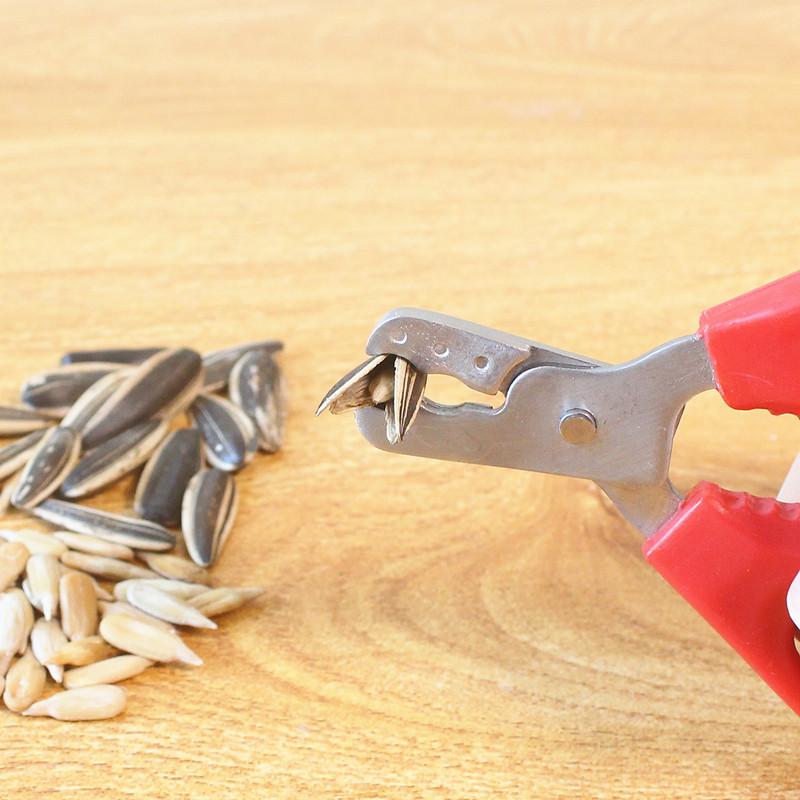 葵瓜子钳剥壳器嗑瓜子夹不锈钢吃西瓜子南瓜子剥皮机工具
