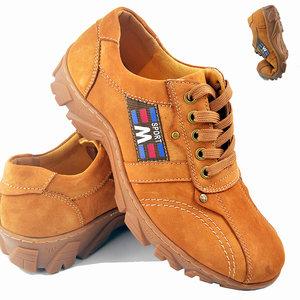 秋季户外登山鞋男士牛筋底运动休闲鞋真皮徒步旅游鞋透气软底男鞋