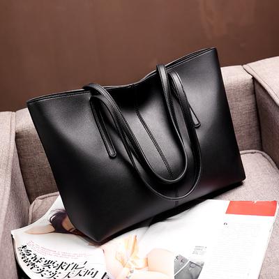 软皮单肩大包包2020新款潮大容量真皮女包托特包手提挎包女士包包
