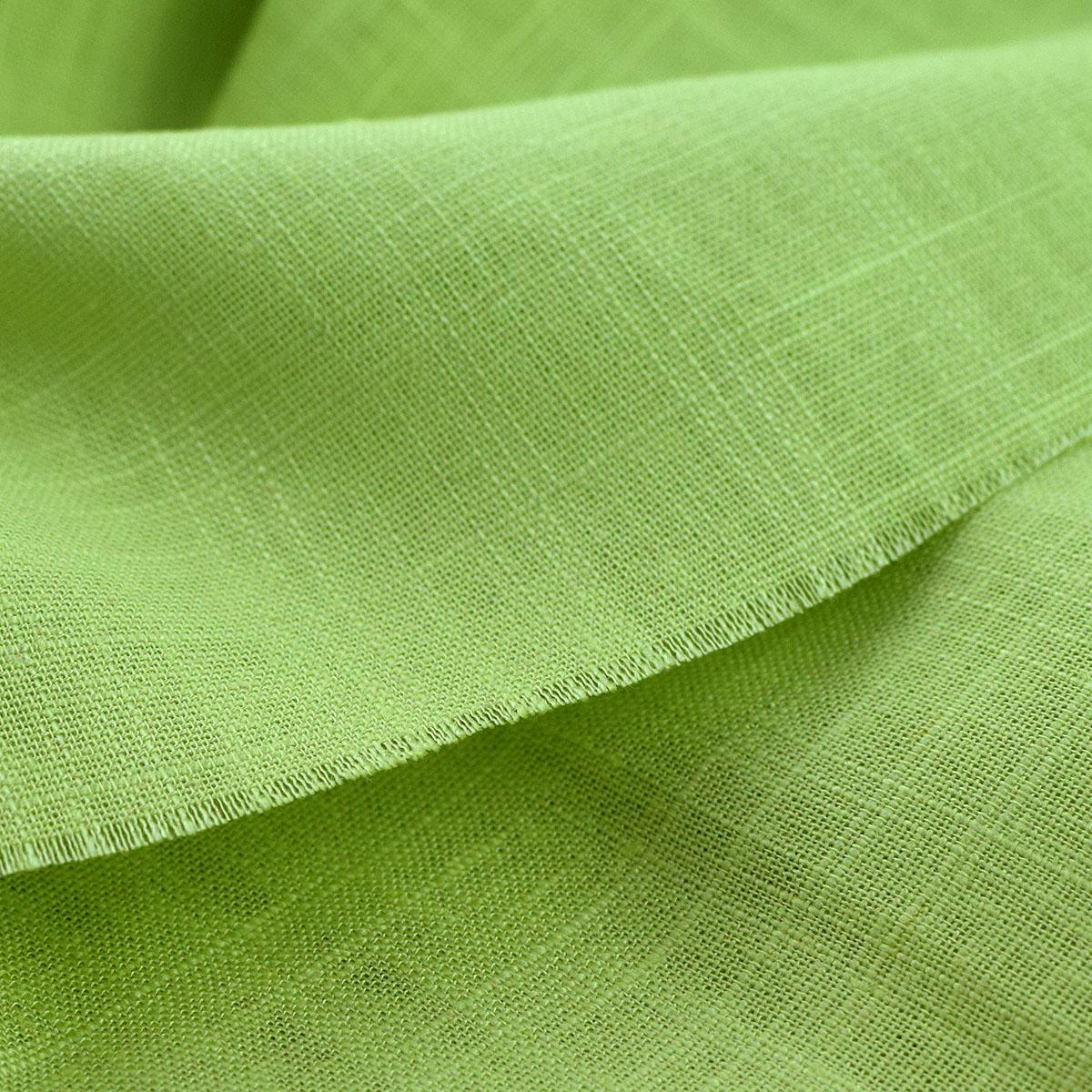 Plain summer high quality slub linen solid linen cotton linen clothing Dress Shorts fabric