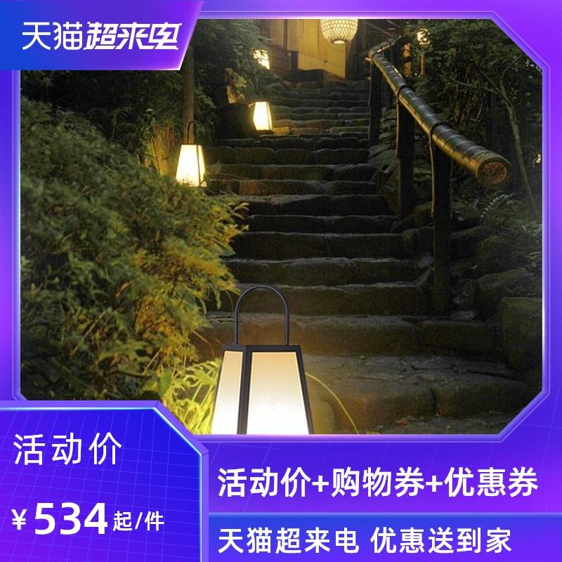 韩都户外防水庭院太阳能草坪灯景观室外日式别墅花园院子落地灯
