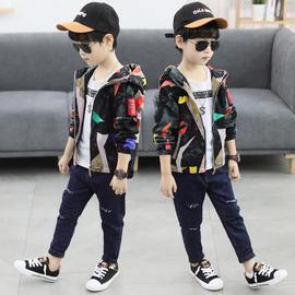 童装男童外套2020秋装新款儿童韩版中大童夹克上衣洋气春秋季潮衣