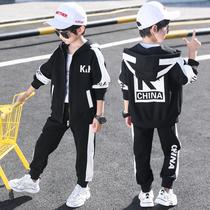童装男童春装套装2020新款儿童帅气春秋款中大童洋气韩版帅气潮衣