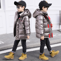 童装男童棉衣2019新款中大儿童冬装羽绒棉棉服外套冬季洋气棉袄潮