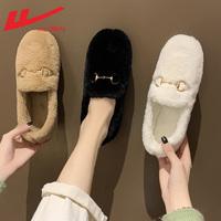 回力毛毛鞋冬外穿加绒新款2021棉鞋怎么样