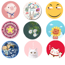 Creative cute girl cartoon mouse pad computer office male student small notebook game large anime office lol desk pad keyboard pad alien eat chicken esports thick pad