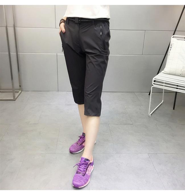 軽量、薄型、弾力性のある夏の速乾パンツ女性2021通気性のアウトドアスポーツランニングパンツ速乾ズボン