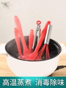 打蛋器刮刀硅胶硅胶厨具套装5件套烘焙工具全套铲铲烹饪勺铲油刷