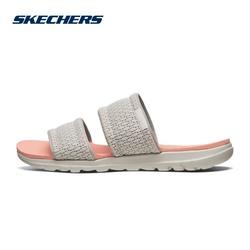 Skechers斯凯奇新款女鞋夏季魔术贴拖鞋 休闲沙滩鞋凉拖鞋 16231