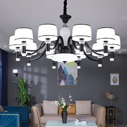 客厅吊灯现代简约美式大气家用创意卧室餐厅轻奢北欧2020新款灯具