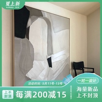 掛畫橫版壁畫梵高名畫歐式現代簡約客廳裝飾畫星空純手繪油畫