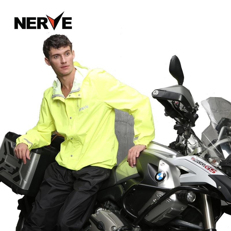 11月30日最新优惠NERVE摩托车雨衣雨裤套装男轻薄透气户外骑行防水防暴雨摩旅装备