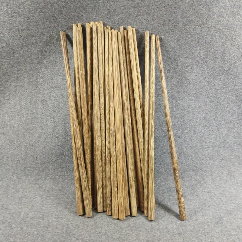 鸡翅木无漆筷子  家用饭店用筷子 手工打磨日式筷子10双包邮25cm