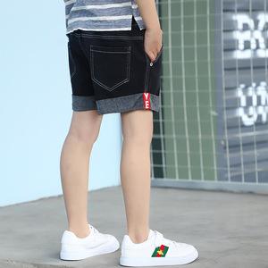 男童牛仔短裤夏季韩版宽松儿童裤子