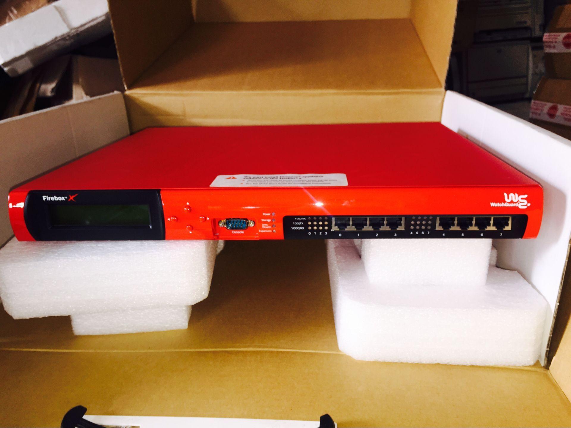 В наличии оригинал WatchGuard Firebox X6500e