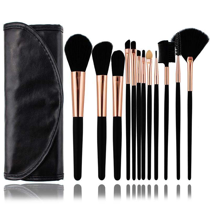 Last 5, 7, 12, branch, makeup, brush set, professional makeup and makeup tools.