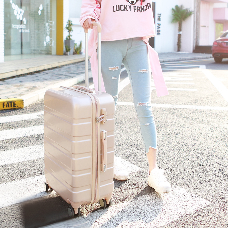 Trolley case universal wheel net red ins suitcase female travel case student password case male 20 inch 24 inch Korean version