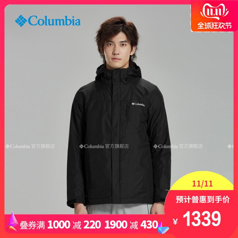 19WE1155新品秋冬男子热能防水夹棉三合一Columbia哥伦比亚户外