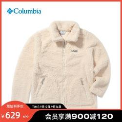 Columbia哥伦比亚户外21秋冬新品女子舒适保暖抓绒衣外套AR2904