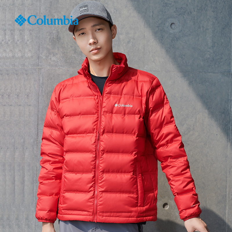 Columbia Columbia 20 autumn and winter stand-up collar hot pressing heat energy lightweight 90% goose down jacket male WE1327