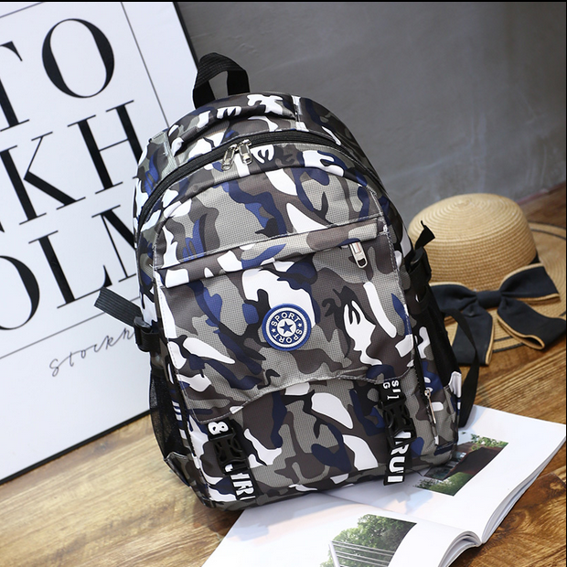 Schoolbag primary and secondary school students 3-4-5-6-9 grade 13-6 5 boys boys ultra light weight reducing childrens backpack