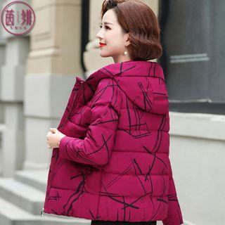 妈妈冬装小棉袄50岁40中老年女装棉衣外套中年人洋气短款羽绒棉服