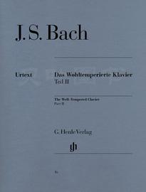 亨乐原版classical 巴赫 十二平均律 卷二 Bach Wohltemp. Klavier 2 br. HN16 顺丰包邮图片