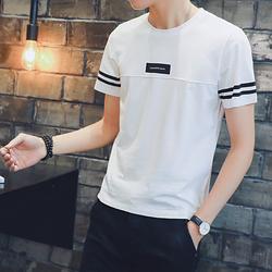A301-T94-P20 2018夏季男士休闲半袖青少年短袖圆领T恤男体恤