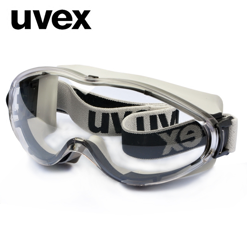 德国UVEX优维斯防护眼镜护目镜骑行镜透明眼罩防冲击防风防沙防尘